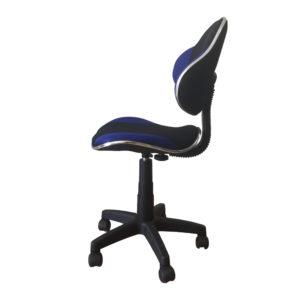 Cadeira secretária BLM G2B , anatômica revestida em tecido spacer, com mecanismo relax e aranha 300 mm, capa do pistão e rodízios em nylon.