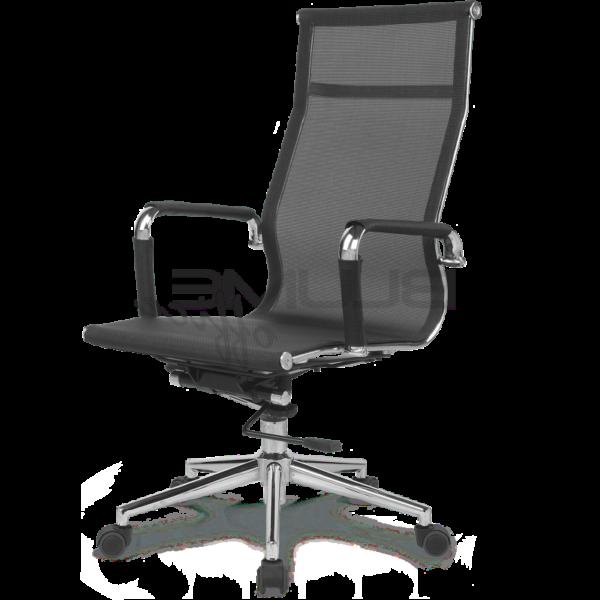 Cadeira Presidente BLM 01 P – Blume Office