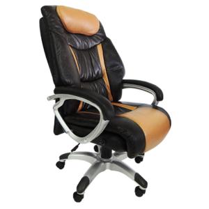 Cadeira Presidente PEL 9012 com encosto alto Base giratória em polipropileno com cinco rodizios Função de ajuste de altura por pistão a gás