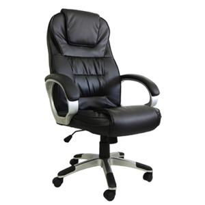 Cadeira Presidente PEL C2652. Alta. Exclusivo sistema massageador com seis pontos de massagem no encosto e dois no assento, sistema de aquecimento na região lombar que proporciona maior conforto térmico e massagens mais eficientes.