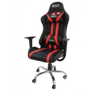 """Com design inspirado nos carros esportivos a """"Cadeira Presidente Gamer Racer Em Couro PU Pelegrin PEL-560"""" tem um visual imponente e moderno, sendo uma excelente opção para quem busca qualidade e conforto durante muitas horas de uso."""