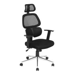 """Conhecida por proporcionar conforto e boa postura, a """"Cadeira Presidente Ergonômica Pelegrin PEL-3008"""" é indicada para longas horas de trabalho e estudo."""