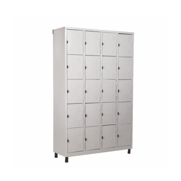 Roupeiro de Aço com 20 Portas Pequenas – Nobre