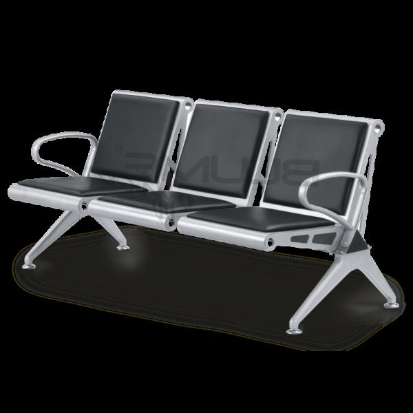 Cadeira Longarina com 3 Lugares BLM 306 – Blume Office