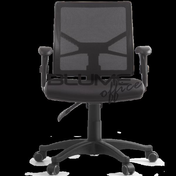 Cadeira diretor BLM para escritórios de alto padrão. Cadeira com encosto em tela de poliéster com regulagem de altura por sistema de catraca. O assento desta cadeira é revestido em tela Spacer com laterais em PU e espuma com densidade controlada, mecanismo Back System. Seus braços têm regulagem de altura em nylon ou PU.