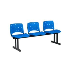 Longarina Plástica Plaxmetal ,Longarina Plástica para Recepção Cadeira Longarina Plástica. Modelo: Fixa. Garantia: 1 Ano. Braços: Sem Braços. Quantidade de Lugares: 2 ou 3 Lugares. Encosto/Assento: Plástipo polipropileno. Diversas cores. Base: Preta ou Alumínio.