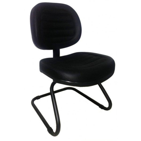 """Cadeira Executiva Fixa Costurada Base em """"S"""" – VTR"""