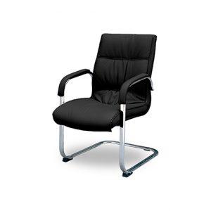 Cadeira de Aproximação Estofada Cromada – Hosanah