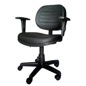 Cadeira Executiva Giratória Costurada c/ Braço – VTR