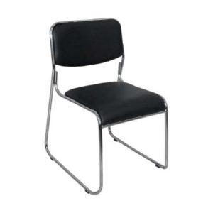 Cadeira Secretária Dakar , – Modelo: Fixa 04 pés -Linha: Plástica -Garantia: 1 Ano -Braços: Sem Braços -Encosto: Polipropileno -Assento: Polipropileno – Base: Cromada