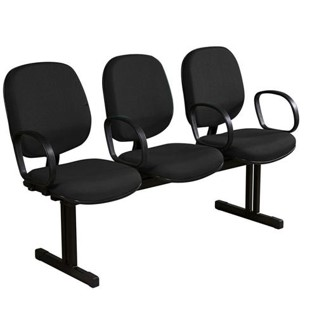 Cadeira Longarina Recepção Diretor Lisa com 3 Lugares – VTR