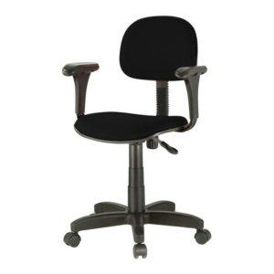 Cadeira Secretária Giratória c/ Braços – Martiflex