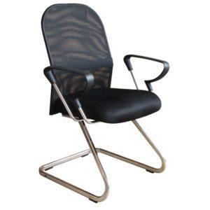 Uma cadeira com excelente custo x benefício e ainda proporcionando conforto e estilo ao mesmo tempo. Com sua estrutura em aço cromado e faixa lateral em metal, criam um design exclusivo para seu ambiente. Com o revestimento em Tela Mesh.