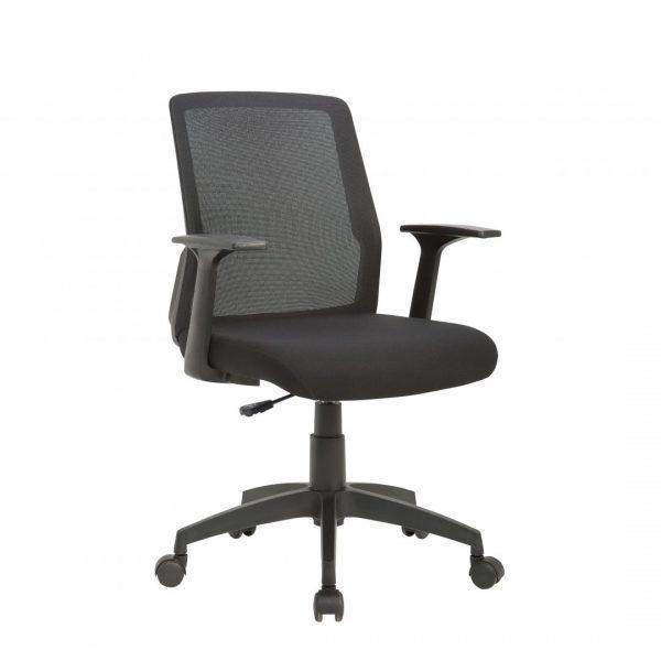Cadeira Diretor Joy , um design superior em cadeiras operativas para o segmento de entrada. Pode ser equipada com encosto de cabeça, apoio lombar e o espaldar em tela confere conforto e sofisticação.