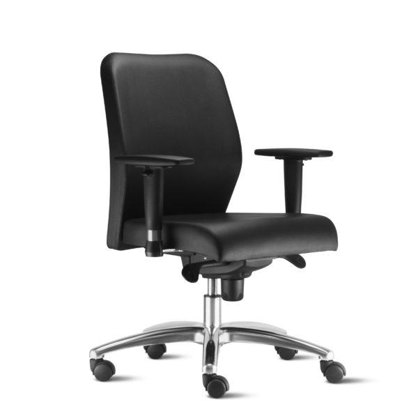 Cadeira Diretor Pointer Premium , é sinônimo de elegância e conforto. Desenvolvida com tecnologia em percintas elásticas e espuma injetada, garante elasticidade e maciez no toque.