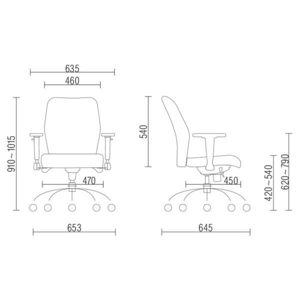 Cadeira Diretor Pointer Premium – Frisokar