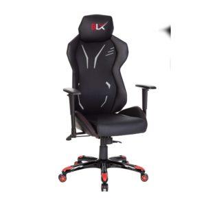 Cadeira gamer 6005 com encosto em tela e recortes nas laterais em courino texturizado apoio de cabeça com bordado personalizado carenagem em pp costas assento em courino com recortes em courino texturizado