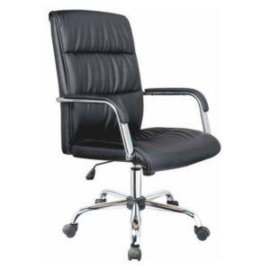 Cadeira Diretor Acolchoada Luxo , Estrutura em Aço cromado Plus size – peso recomendado de 160 kg Reclinável É a junção de conforto, beleza e durabilidade.