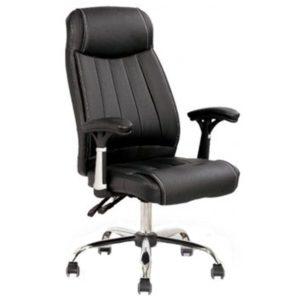 Cadeira presidenteAcolchoada LuxoEstrutura em Aço cromadoPlus size – peso recomendado de 160 kgReclinável\back SistemÉ a junção de conforto, beleza e durabilidade.