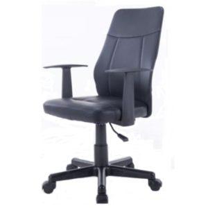 ·Assento com estrutura reforçada em madeira. Espuma com densidade controlada revestido em couro PU·Braços em polipropileno·Regulagem de altura através do pistão a gás·Rodízios em PP