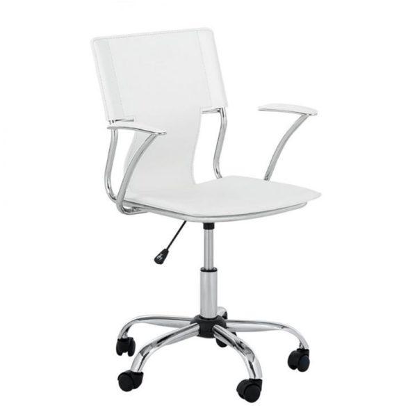 """Com design clean a """"Cadeira Diretor Executiva em Couro PVC Pelegrin PEL-6011"""" é a escolha adequada para quem busca qualidade e conforto. Muito utilizada em ambientes corporativos, escritórios e home Office, compõe a decoração proporcionando um ambiente moderno, leve e sofisticado.Totalmente revestida em couro PVC, a cadeira chama a atenção com detalhes no encosto e assento, trazendo um aspecto de elegância e requinte. Com estrutura leve e resistente, a cadeira tem regulagem de altura e sistema com mecanismo relax que permite maior comodidade e uma postura correta. A base giratória em metal cromado com rodízios PP promove maior mobilidade e durabilidade."""