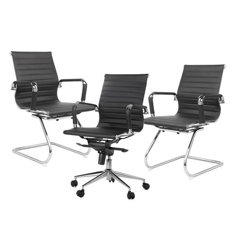 1 Cadeira Diretor BLM 04D + 2 Cadeiras de Aproximação BLM04F