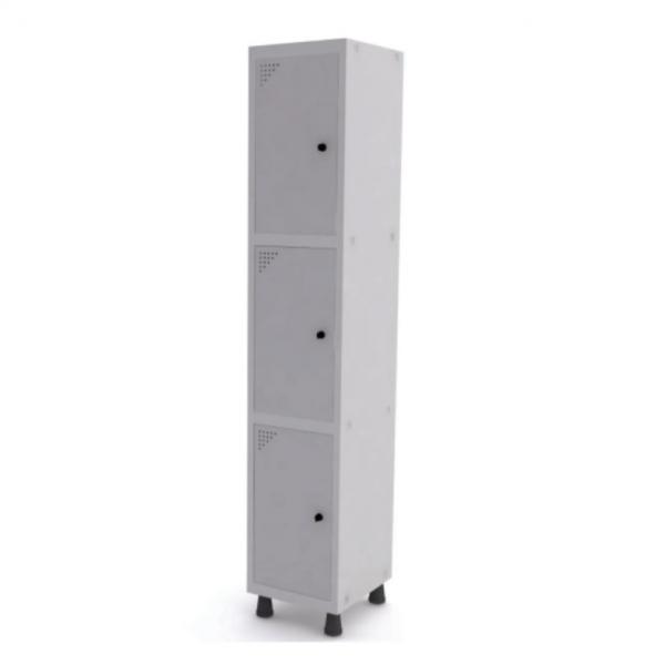 Roupeiro de Aço com 3 Portas – Pandin