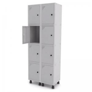 Roupeiro de Aço com 8 Portas Pequenas – Pandin