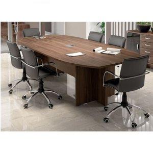 Mesa de Reunião de 06 lugares – Maranello Linha UP Glass