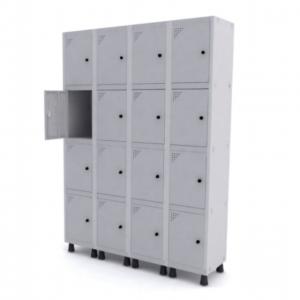 Roupeiro de Aço com 16 Portas Pequenas – Pandin