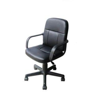 Cadeira  Diretor Couro PU  PEL-1505 Preta