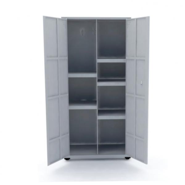 Armário de Aço Multiuso com 2 Portas (1627×750) – Pandin