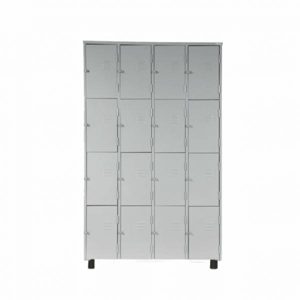 Roupeiro de Aço com 16 Portas Pequenas – Nobre