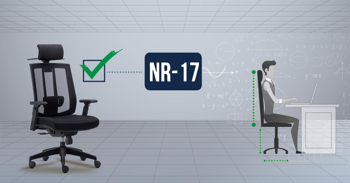 O que é uma cadeira ergonômica? – NR 17