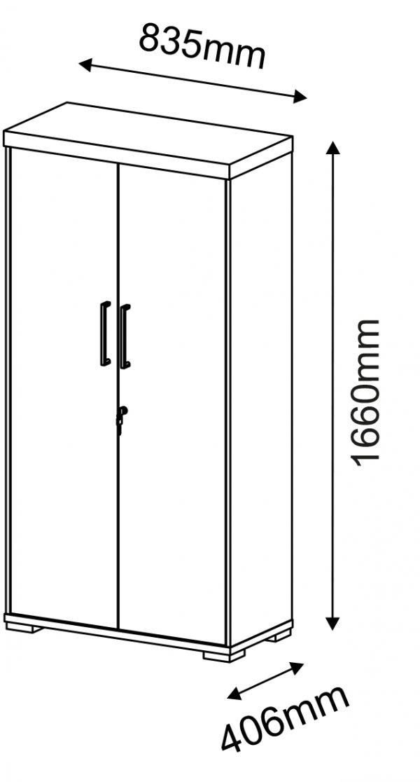 Armário Alto com 2 Portas – Artany