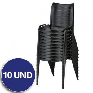 Combo Cadeira Plástica ISO – VTR