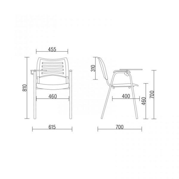 Cadeira Plástica ISO – Frisokar