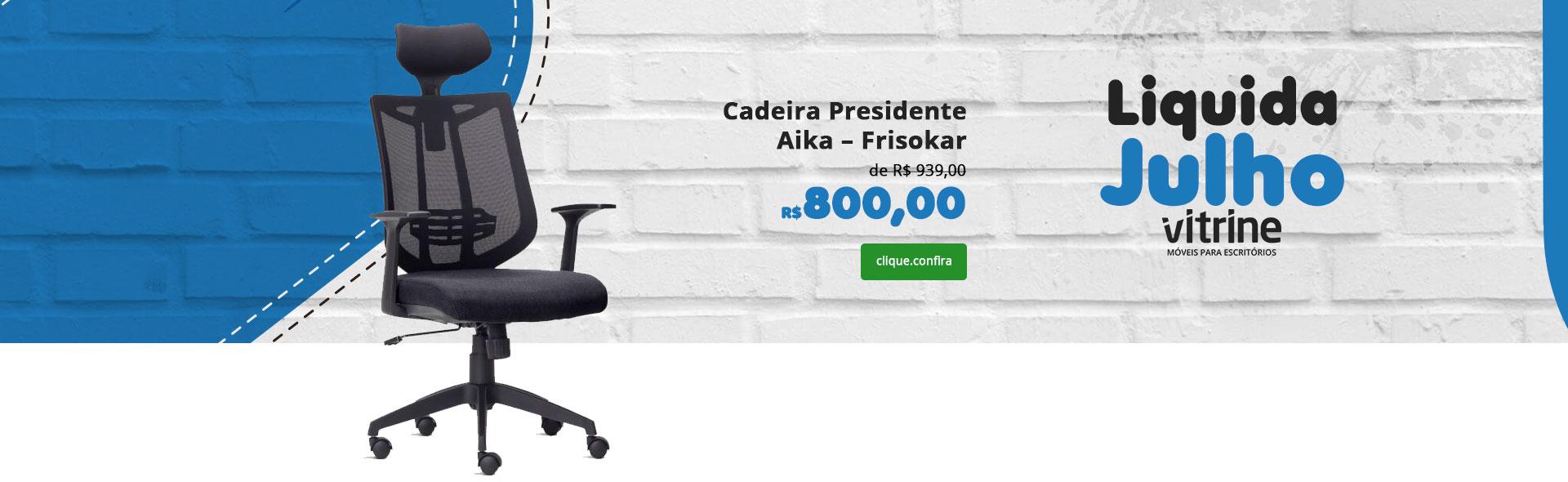 Cadeira Presidente Aika Slider