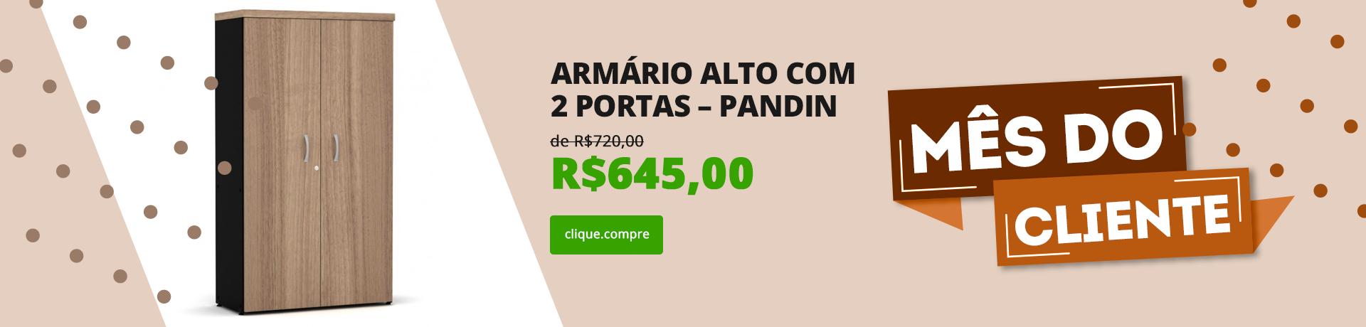 Armário Alto com 2 Portas – Pandin