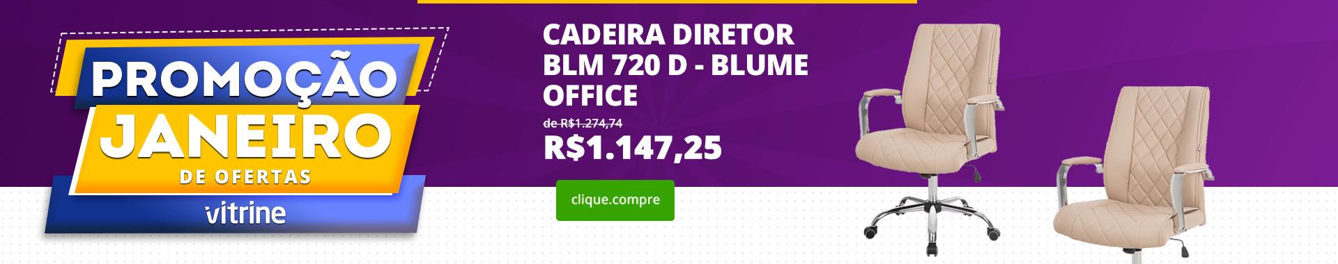 Cadeira Diretor BLM 720 D – Blume Office