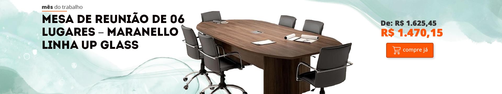 mesa de reunião maranello – 6 lugares