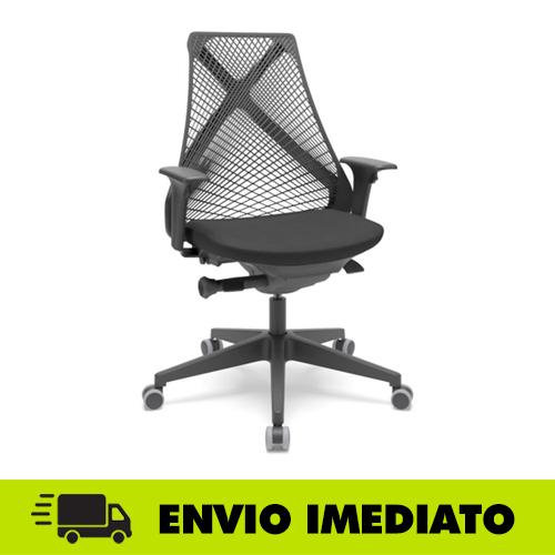 Cadeira de escritório Bix Presidente – Plaxmetal