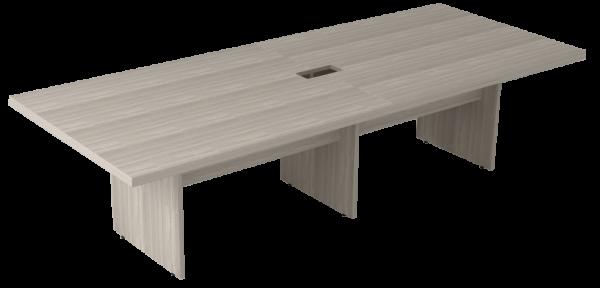 Mesa Reunião Retangular Bipartida com Rasgo para Caixa Basic M – Prima Impact