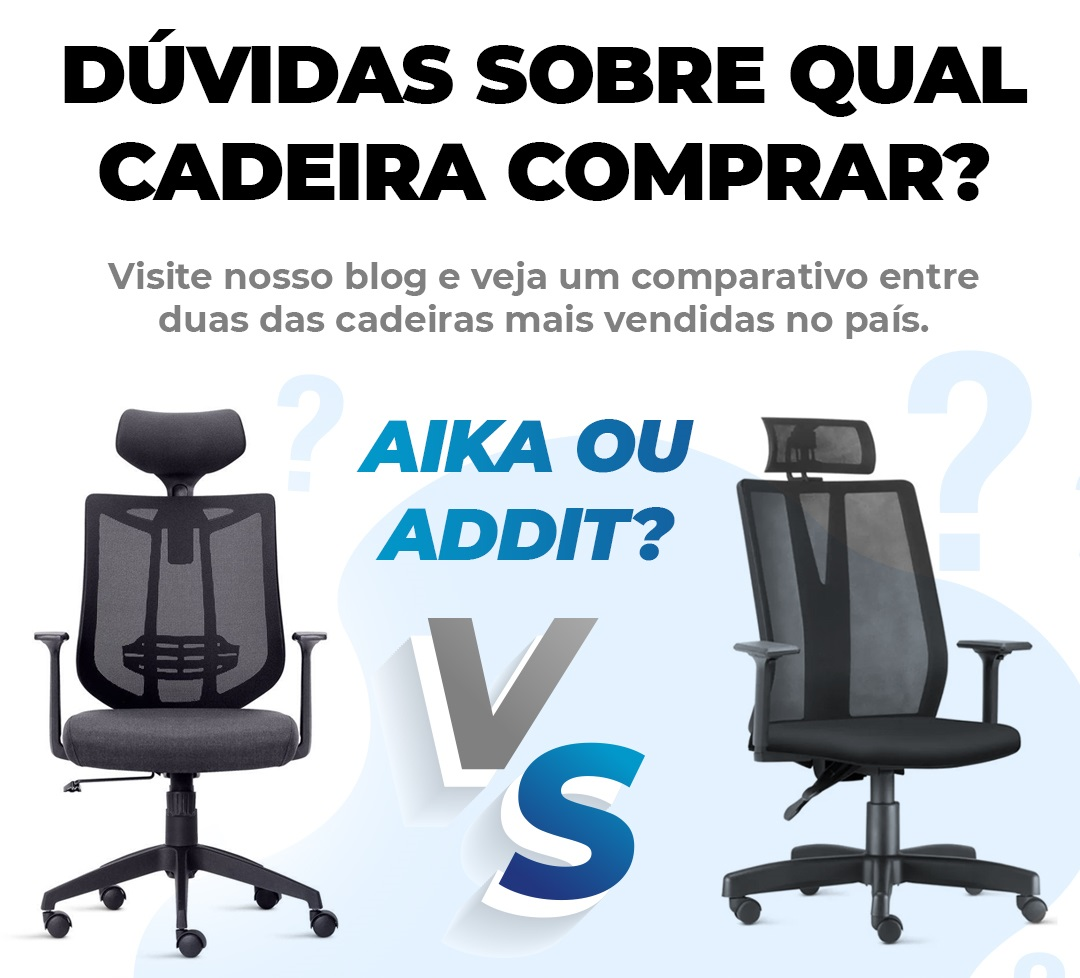 Comparativo – Cadeiras Presidente